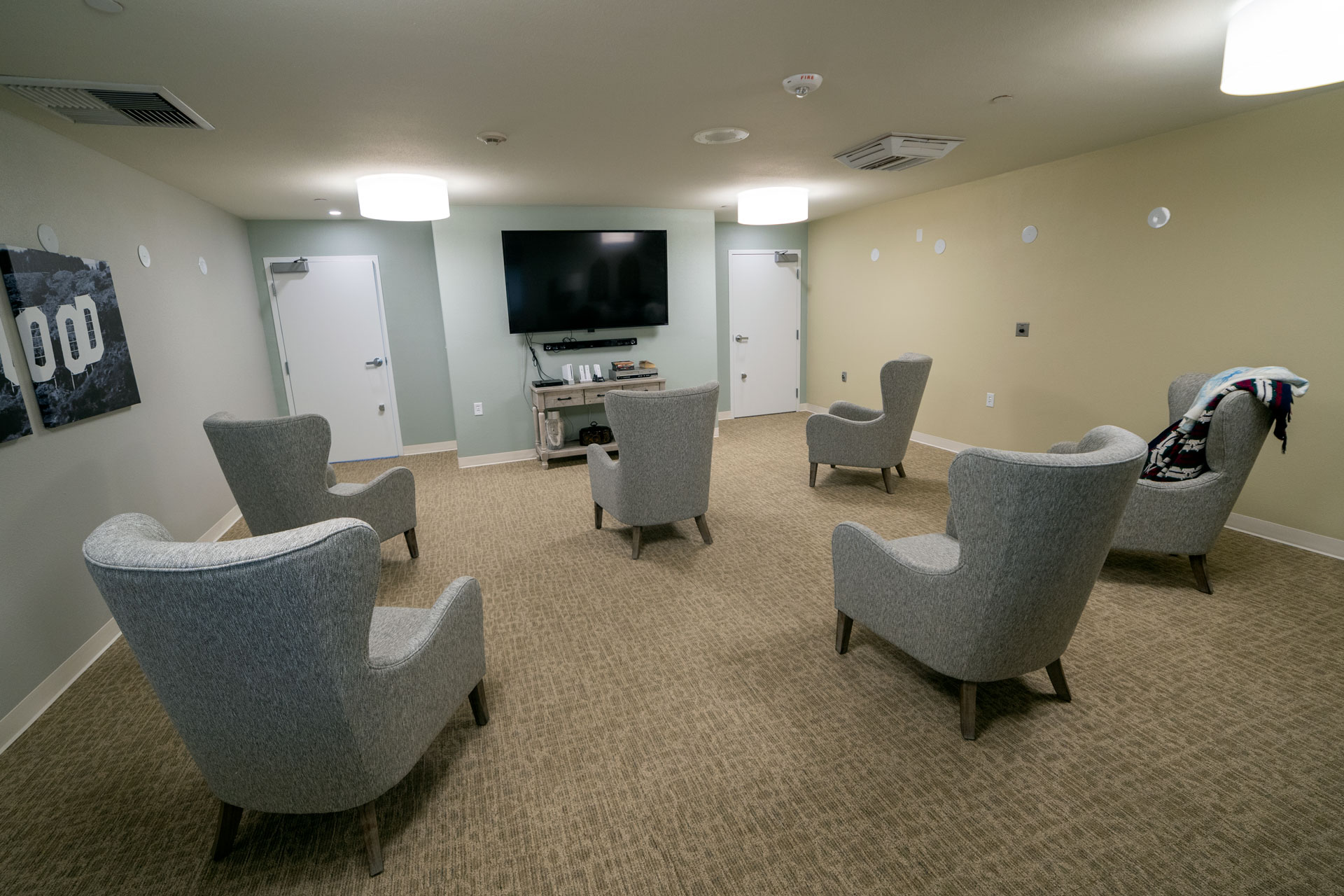 The Fountains Theater Room